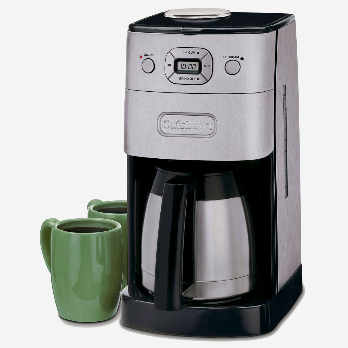 Amazon Cuisinart Stock Pot Grind And Brew Thermal 10 Cup Automatic Coffeemaker