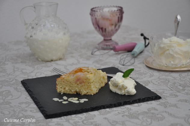 Rhabarber-Marillen-Kuchen