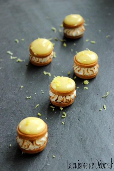 Tarte citron revisitée - Bouchée citron-yuzu - Cuisine de Déborah