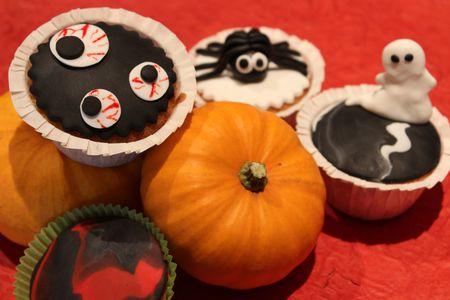 Les cupcakes d'Halloween! Cuisine de Deborah