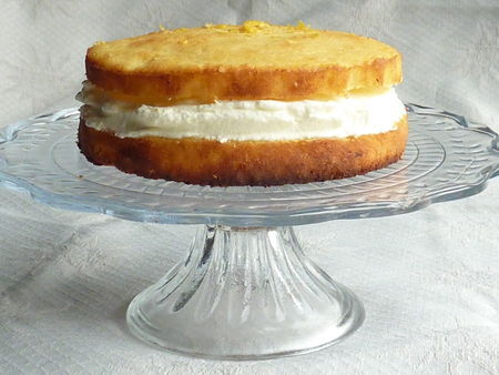 Gâteau léger au citron -Cuisine de Déborah