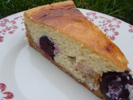 Gâteau à la ricotta et aux cerises - Cuisine de Deborah