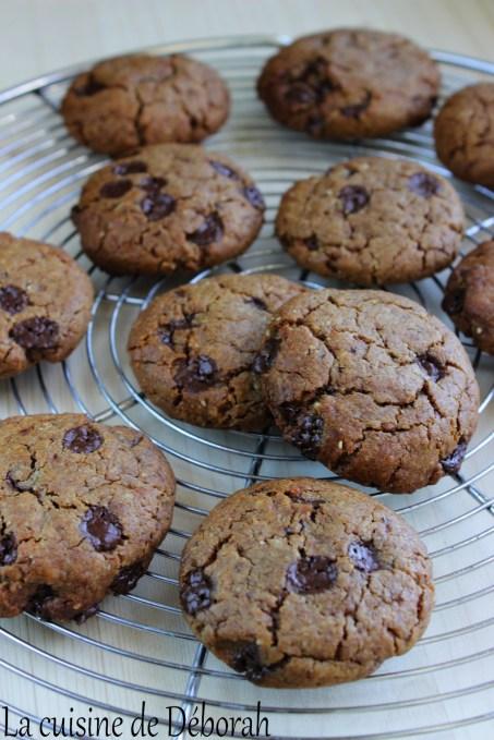 Cookies vegan aux pépites de chocolat   Cuisine de Deborah
