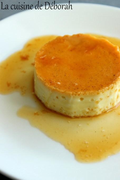 La crème caramel    Cuisine de Deborah