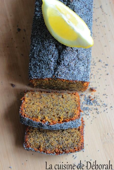 Cake citron pavot selon Nicolas Bernardé   La cuisine de Deborah