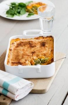 Gratin de lieu noir à la patate douce - ©www.cuisinedetouslesjours.com