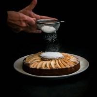 Gâteau à la compote et aux pommes