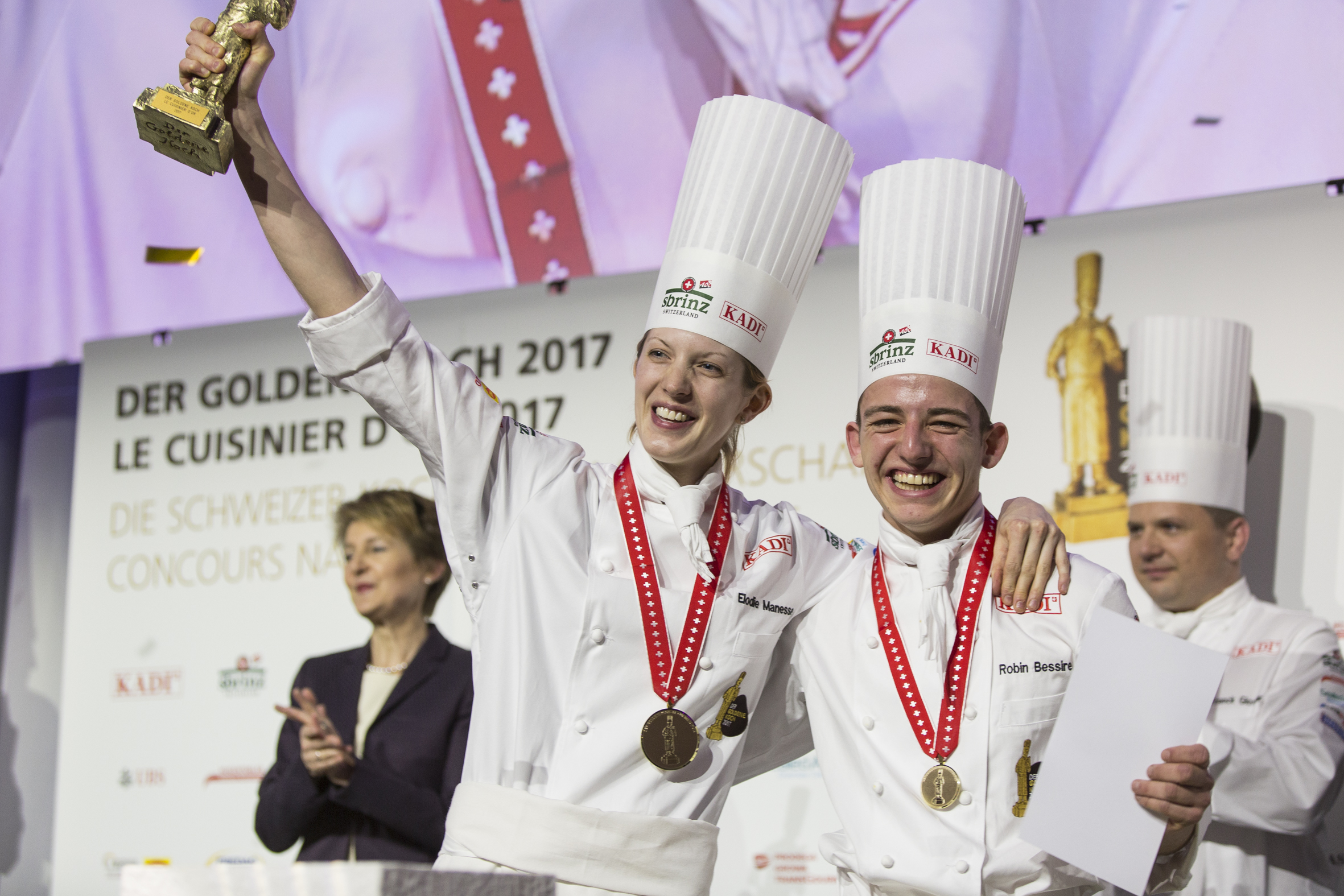 Küchenchefs Tv Now Chef Elodie Manesse Wins Swiss National Culinary Arts Competition