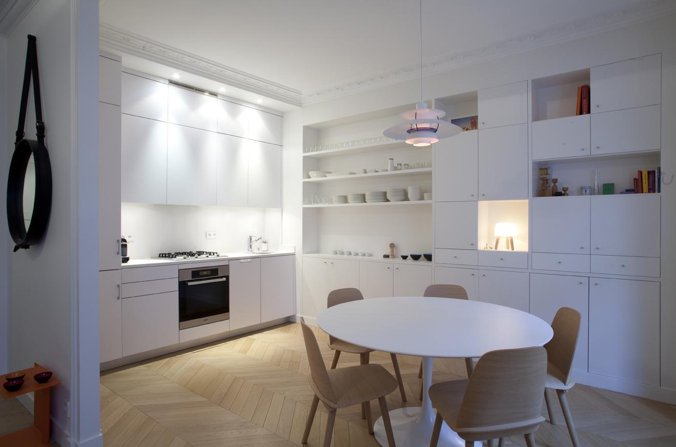 Découvrir une cuisine au design scandinave
