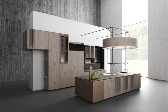 Le r le de la couleur dans la cuisine cuisines et bains for Fabriquer sa cuisine en mdf