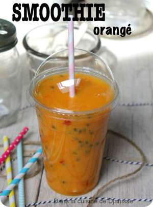 Smoothie orangé