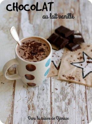 Vegan : chocolat chaud au lait vanillé