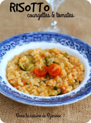 Vegan recipe : tomato risotto