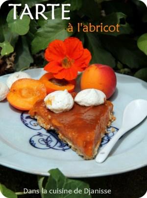 Recette IB bas végane : tarte à l'abricot