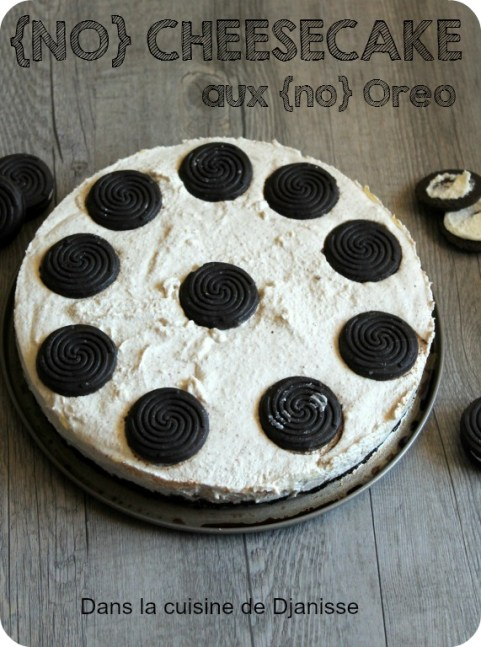 no cheesecake aux oreos