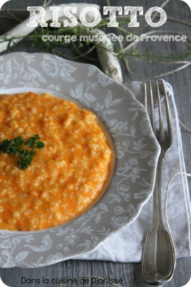 risotto courge musquée
