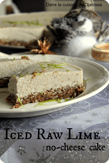 raw lime cheesecake
