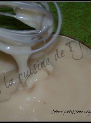 crème patissiere végétale