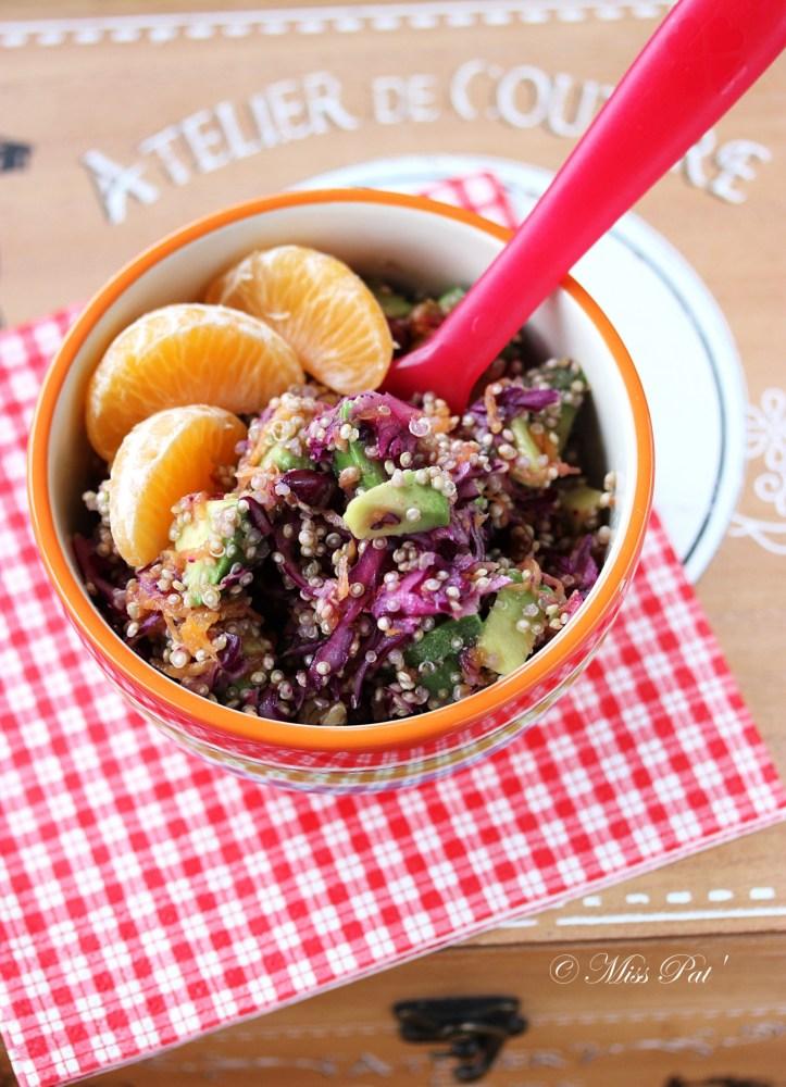Salade de quinoa misspat