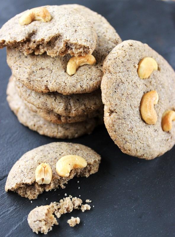 Cookies sans gluten et vegan