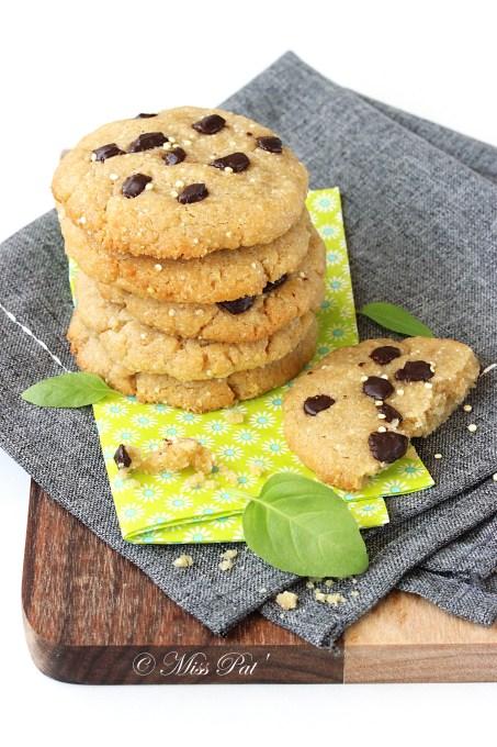 Cookies au quinoa misspat blog