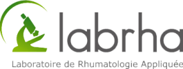 Logo Laboratoire de Rhumatologie Appliquée