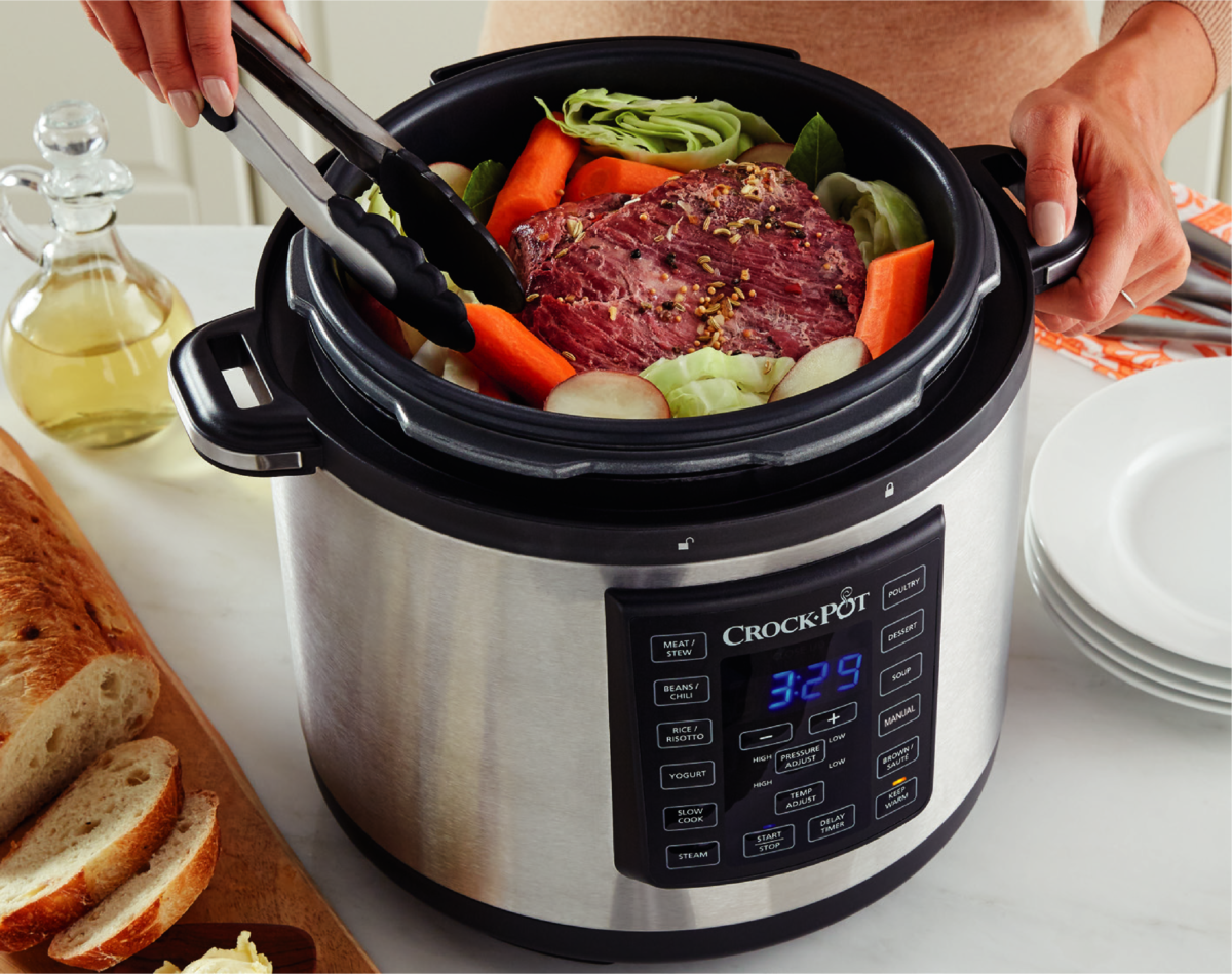 Slowcooker Recepten Stoofvlees Crock Pot Introduceert De Express Pot