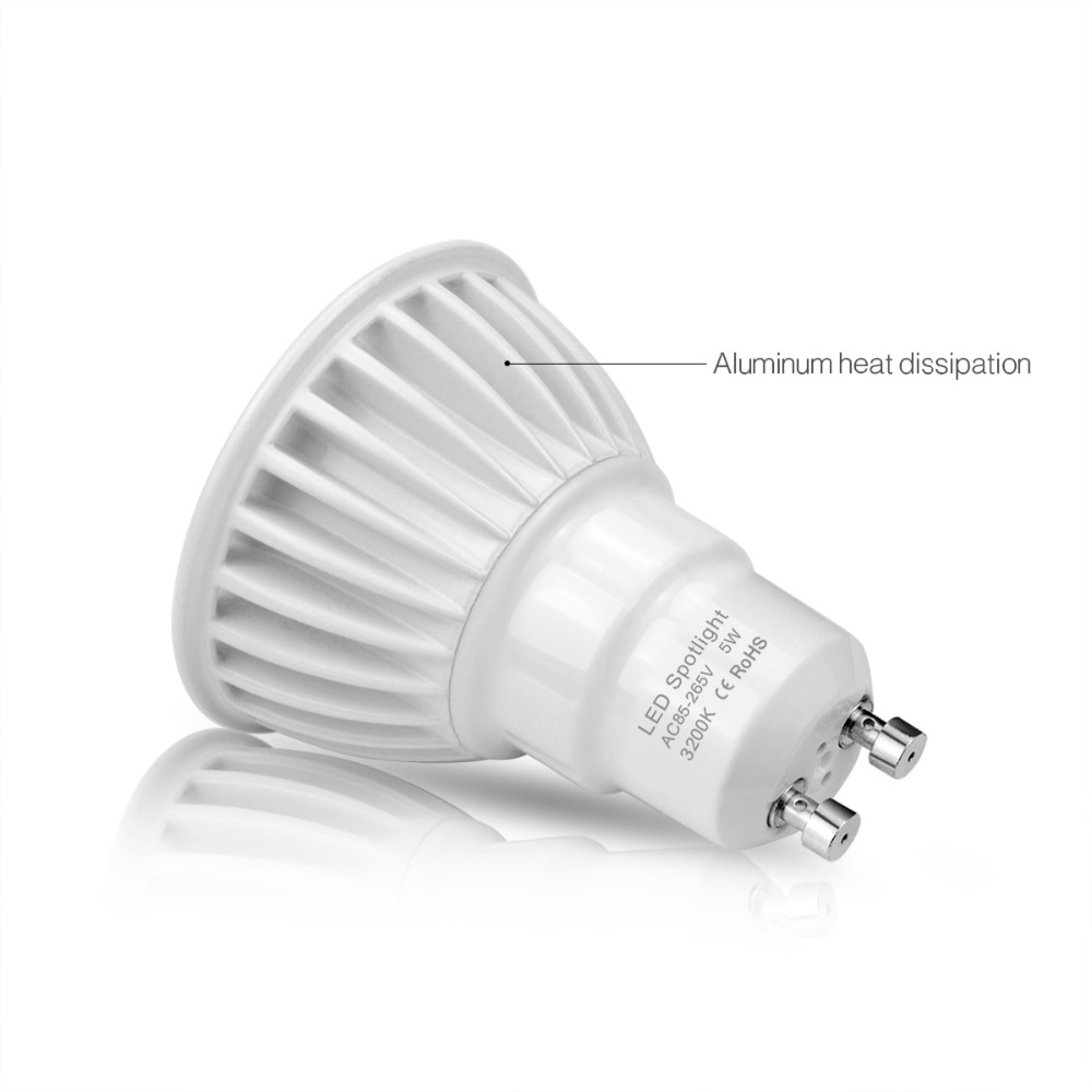 Led Spot Gu10 Ac 85 265v 220v 110v 3w 5w 7w Gu10 Cob Led Bulb Light Cob Led Lamp