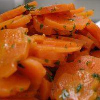 Édes savanyú pácolt sárgarépa