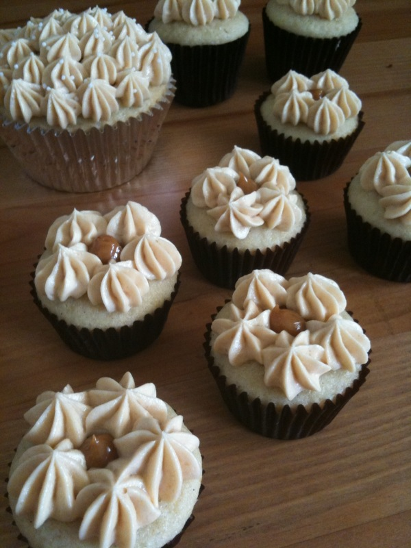 All Things We Like Vanilla Bean Cupcakes Filled With Dulce De Leche | The