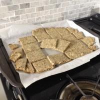 Zaatar Almond Crackers