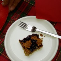 Sweet Christmas Series: Cherry Almond Cake Squares