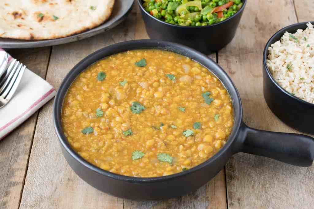 Indian dal is an easy and very flavorful side dish made from split ...