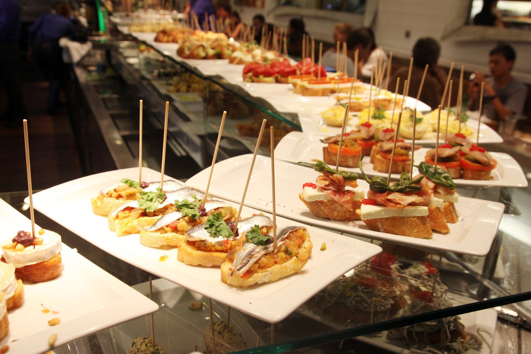 Restaurante Buffet Libre Barcelona Tapas Tours Culinary Spain In Englishculinary Spain In