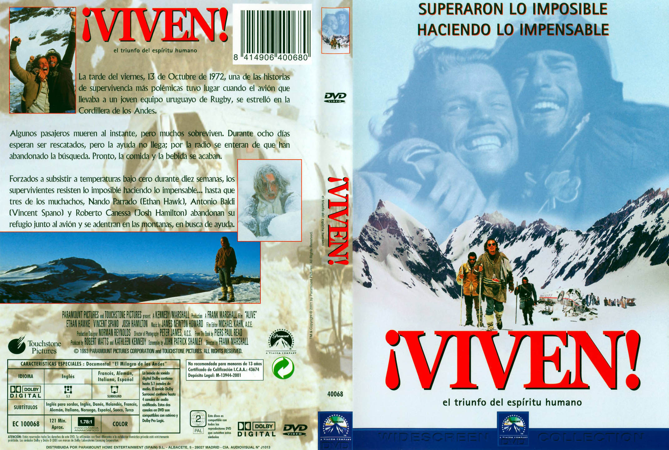 Crash Libro Viven 1993 Hdtv 720p Audio English Latino Identi