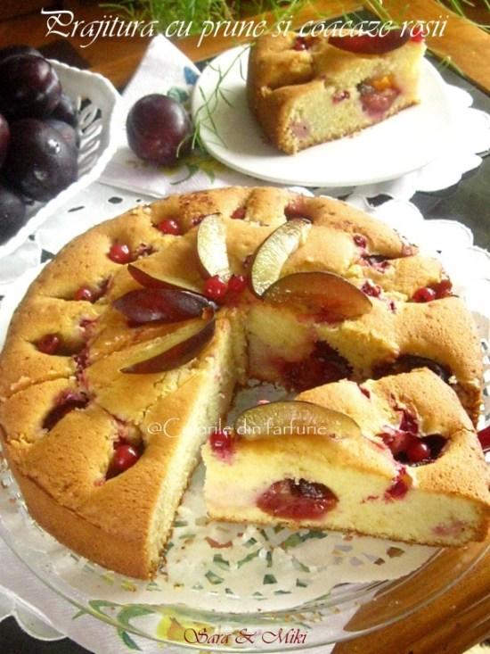 Prajitura-cu-prune-si-coacaze-rosii-1