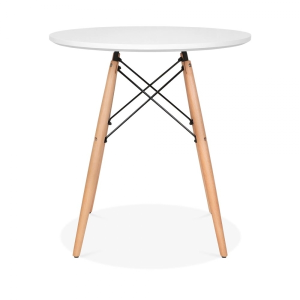 Eames Replica Deutschland Eames Dsw Style 70cm White Round Table | Round Dining