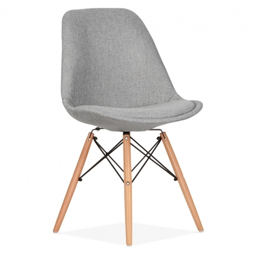 Eames Chair Grau Eames Inspired Cool Grey Upholstered Dining Chair With Dsw
