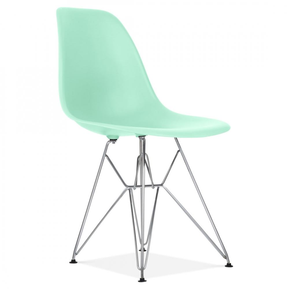 Eames Eiffel Charles Eames Dsr Eiffel Chair In Peppermint | Cult
