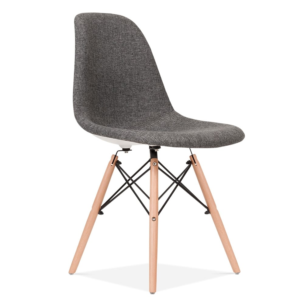 Eames Chair Grau Eames Style Grey Dsw Chair Upholstered | Dining Chairs
