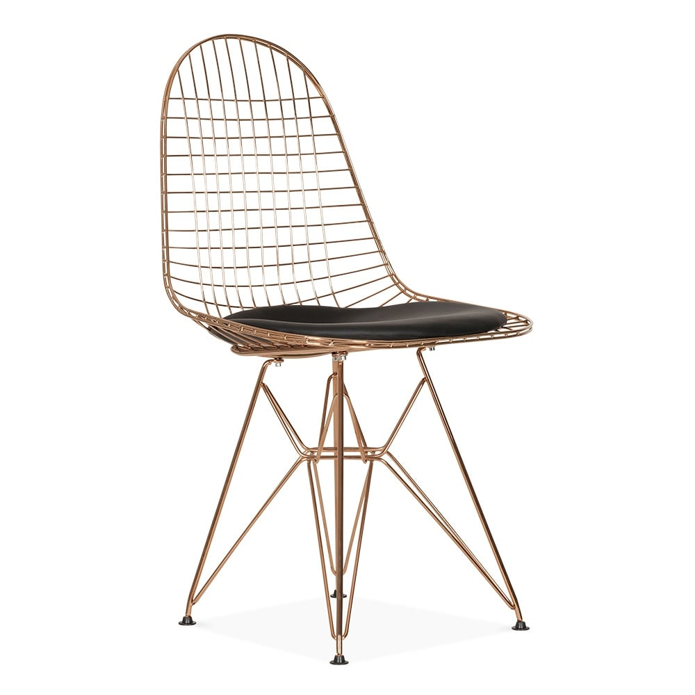 Eames Copper Dkr Wire Chair Cafe Dining Chairs Cult - Eames Chair Wire