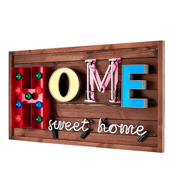 Hocker Marquee Cult Living Home Sweet Home Led Schild | Beleuchtung