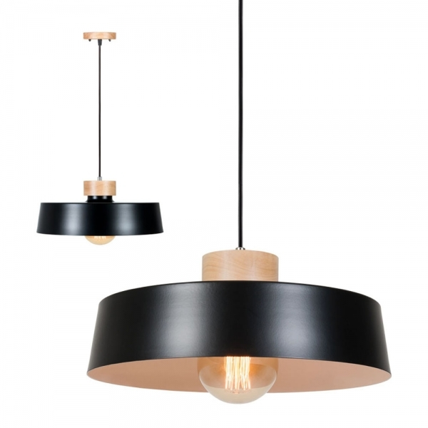 Hocker Marquee Black Scandinia Metal Pendant Light | Modern Ceiling Lighting