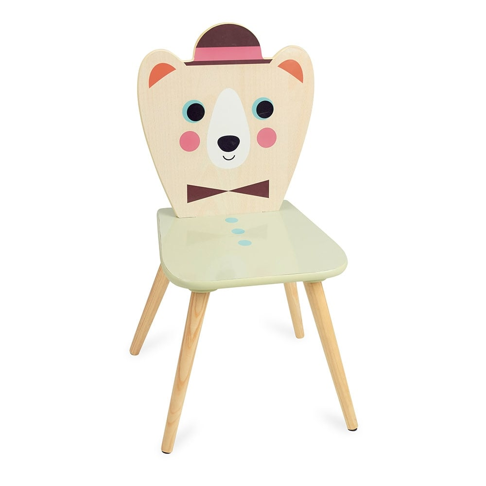 Vilac Kids Holz Bär Mit Hut Kinderstuhl Cult Furniture