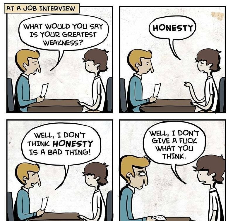What Is Your Greatest Weakness?\