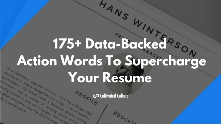 175+ Data-Backed Action Words To Supercharge Your Resume