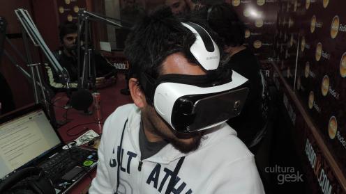 Probando los Samsung Gear VR