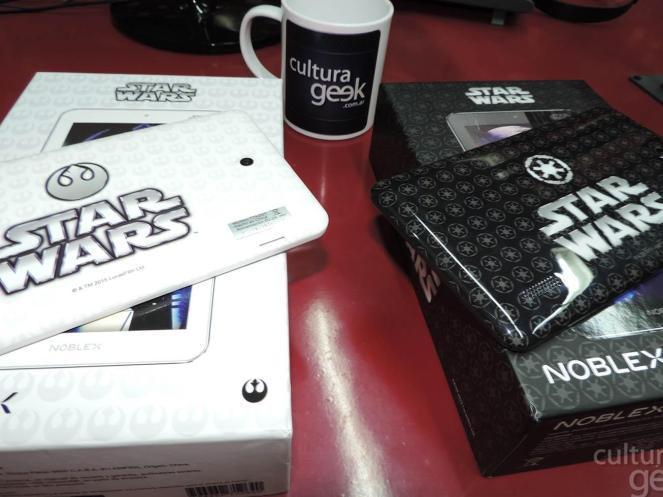 Cultura Geek tablet noblex Star Wars isurus Gaming !