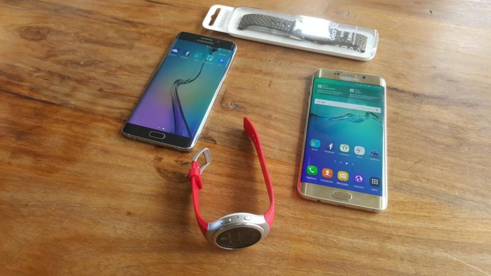 Gear S2 smartwatch Galaxy S6 Edge Plus en Argentina culturageek.com.ar