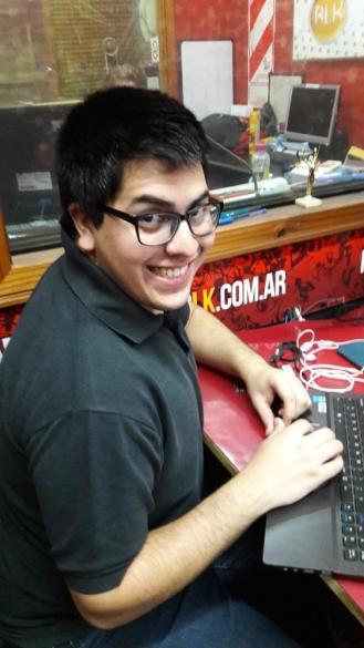 """Claudio """"el guasón"""" villalba Culturageek.com.ar"""